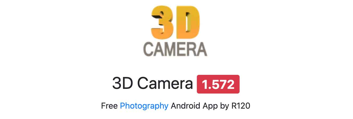 3D Camera By R120